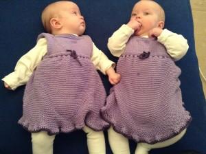 Dåpsantrekk til tvillingene