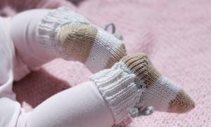 Babysokker i ull og bomull – Giveaway dag 2 av 5